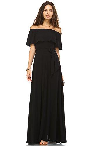 Buy belted blush maxi dress - 1