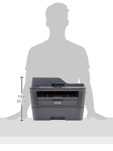 Brother MFCL2740DW Wireless Monochrome Printer with Scanner, Copier and Fax, Amazon Dash Replenishment Enabled by Brother (Image #4)