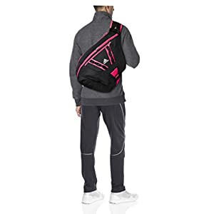 adidas Capital Sling Backpack, Black/Shock Pink, One Size