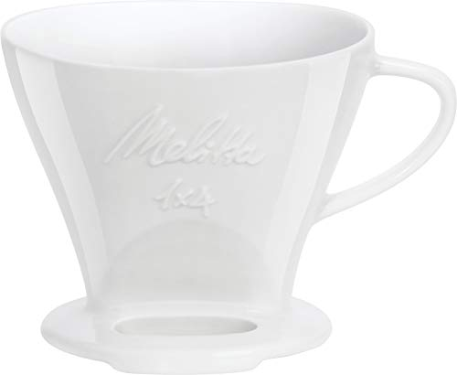 Melitta 6763134 Cone Porcelain Coffee Filter Size 1 x 4 White by Melitta (Image #1)