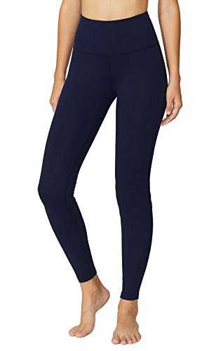 Power Flex Yoga Capris Pants Tummy Control Workout Running 4 Way Stretch Yoga Capris Leggings (Jacket Abs)