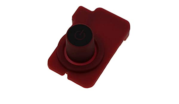 Krups Nespresso botón pulsador botón encendido Rojo ON/OFF Essenza ...