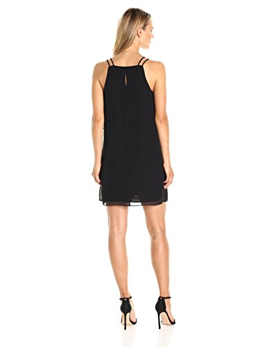 Women's Mini BCBGeneration Black Ruffled Dress w0Y6xqYU