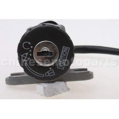 scooter Ignition Key Switch Lock for 50cc Chinese 50QT-21 JONWAY Moped : Sports & Outdoors