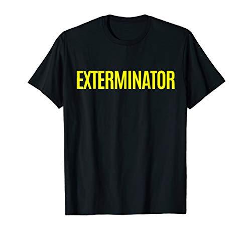 Exterminator Pest Control Halloween Costume T-Shirt]()