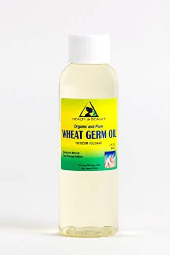 Wheat Germ Oil Refined NATURAL Carrier Cold Pressed 100% Pure 2 oz