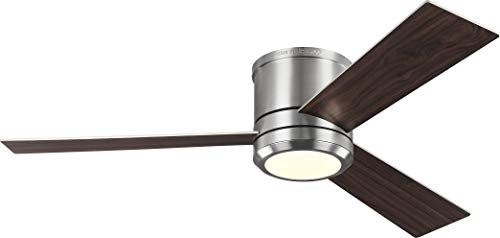 Monte Carlo 3CLMR56BSD-V1 Clarity Max LED Ceiling Fan, 56