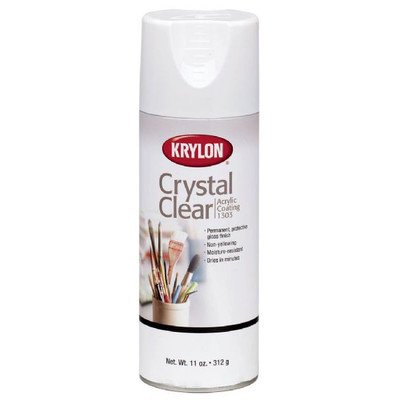 Alvin & Co. K1303 KRYLON Crystal Clear 11oz