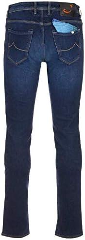 Jacob Cohen Mode De Homme J622SLIMCOMFTA01127W1001 Bleu Coton Jeans | Automne-Hiver 20