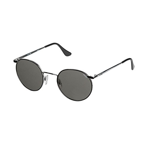 Price comparison product image Unisex Randolph 49/23MM Gray Polarized Adventure Travel Sunglass-Bright Chrome-US Size OS