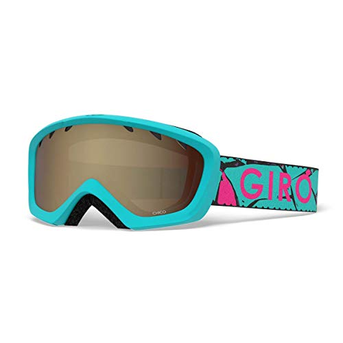 Giro Chico Kids Snow Goggles Glacier Rock - Amber Rose