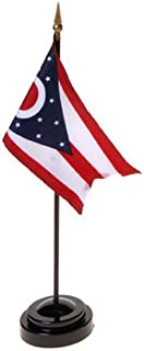 product image for Ohio Flag 4X6 Inch Mounted E Gloss