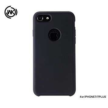 competitive price 291dd 848b2 WK Moka Phone Case For iPhone X WK-021 - Black: Amazon.in: Electronics