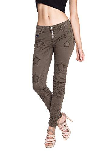 Jeans Monkey Cachi Unita Tinta Skinny Blue Donna HB5wPqq
