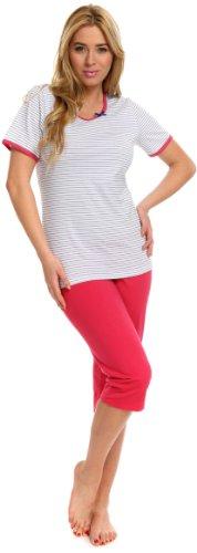 Italian Fashion IF Pijamas para Mujer Birma 0225 Amaranto