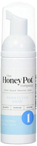 The Honey Pot Company Sensitive Feminine Wash-Herbal-2 Fl Oz