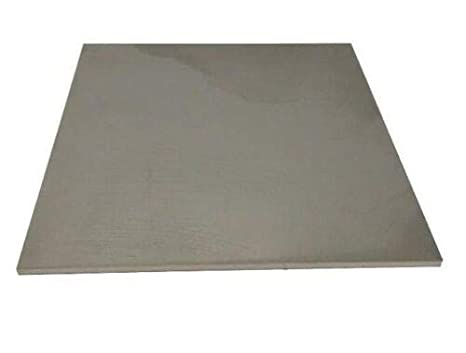 "22 Gauge Stainless Steel #4 Brushed 304 Sheet Plate 6/"" x 12/"""