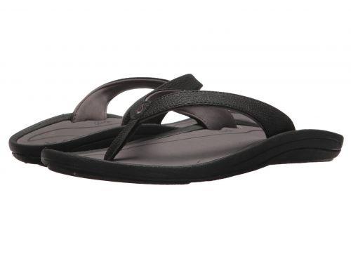 Olukai(オルカイ) レディース 女性用 シューズ 靴 サンダル Kulapa Kai W - Nero/Pavement 8 B - Medium [並行輸入品]