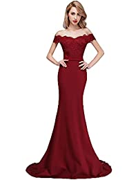 Amazon.com: burgundy bridesmaid dresses: Clothing, Shoes