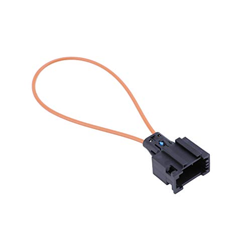 NCElec Most Optical Fiber Optic Loop Bypass Female Adapter Compatible with BMW Mercedes Benz Audi Porsche(Female)