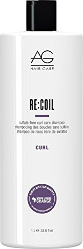 AG HAIR Re-Coil Shampoo Curl Activating Shampoo,  33.8 Fl...