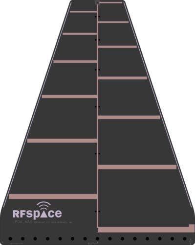 RFSPACE LPDA-MAX Log - Antena de registro periódico UWB de ...