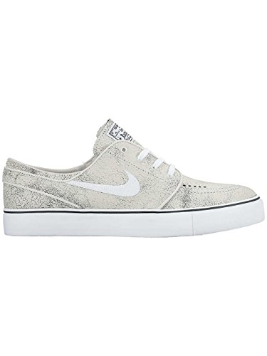 Nike Zoom Stefan Janoski Elite, Zapatillas de Skateboarding para Hombre Blanco (Blanco (White/White-Black))