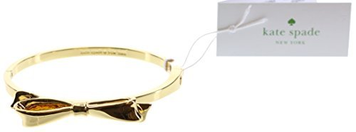 Bow Bracelet (Kate Spade New York Love Notes Bangle Hinged Bracelet (Gold))