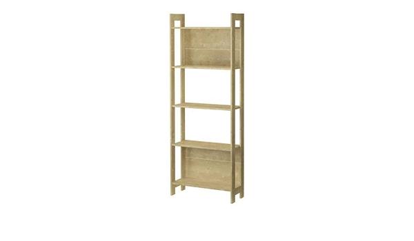 Ikea LAIVA - Biblioteca, efecto abedul – 62 x 165 cm
