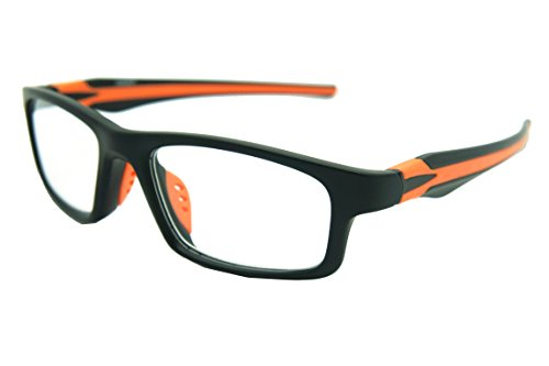 ColorViper Sports Double Injection Readers Flexie Reading Glasses (ORANGE, - Glasses Sports Reading