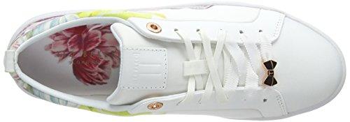 Ahfira2 Tranquillity Zapatillas Mujer White para Baker Ffffff Ted Blanco Fxw7UqTfUC