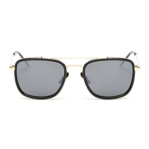 My.Monkey Unisex Fashion Square Frame UV400 - What Is Polarized Difference And Uv The Protection Between