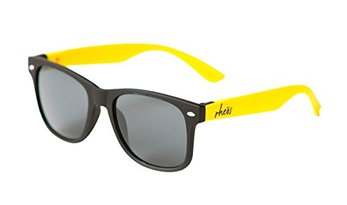 UV400 Sunglasses - Black Frames, Yellow - Yellow Oakleys Black And