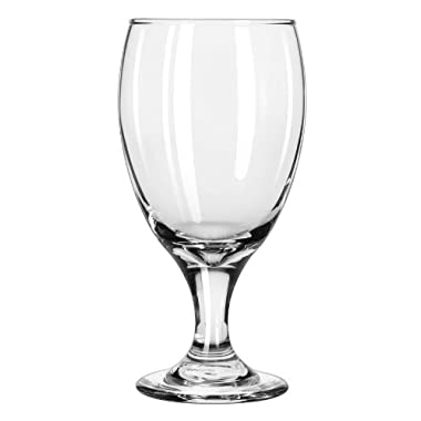 Libbey 16.25-Ounce Classic Goblet Glass, Clear, 4-Piece