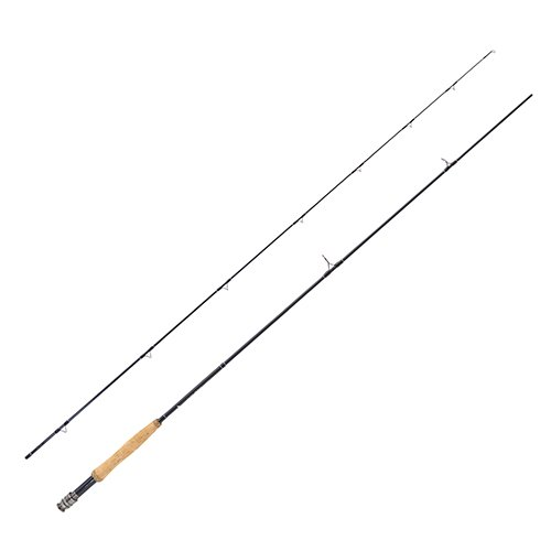 Eagle Claw BD84F2 Diamond Series Graphite Fly Rod, 8 Length, 2Piece Rod, 4 Line ()