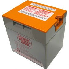 Power Wheels By Fisher-price 00801-1661 ORANGE TOP BATTERY (Parts For Fisher Price Jeep)