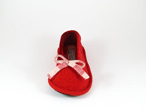 Pantofole da Donna Invernali Rosse
