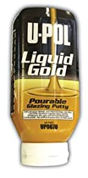Liquid Gold (TM), Pourable Glazing Putty-by-U-POL PRODUCTS