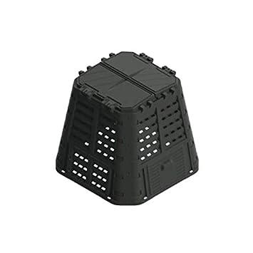 Brixo - Compostador de420 l - Caja ecológica Rugby - 89 x 89 x 80 cm