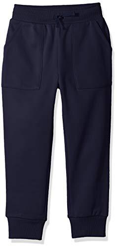 Spotted Zebra Big Boys' Active Jogger Pants, Navy, Medium (8)]()