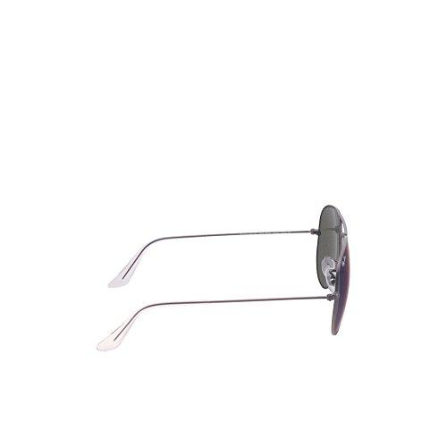 (Ray-Ban RB3025 Aviator Sunglasses,Gunmetal Matte,58 mm)