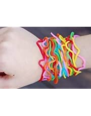 108 piece lof of assorted Shaped Rubber Bandz (like Silly Bandz)