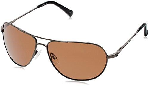 Polaroid P4401s Polarized Aviator Sunglasses,Black Gunmetal,62 - Polaroid Sunglasses Aviator