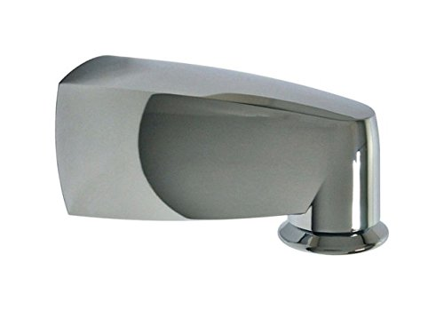 DANCO 6.in Pull Down Tub Spout in Chrome - 6 Inch Tub Spout