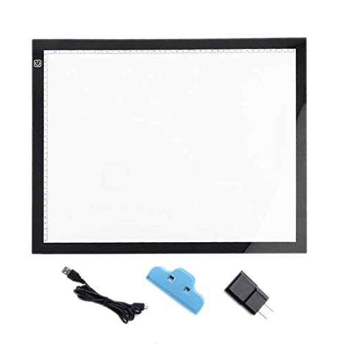 8Eninise A3 Portable LED Drawing Board Eyesight Protection Touch Dimmable Tracing Table