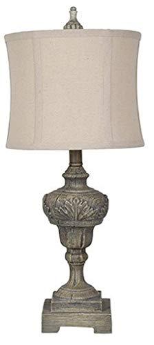 Crestview Collection Vanderbilt Gray Stone Table Lamp from Crestview Collection