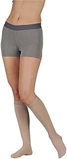 Juzo 2001AD14 II Soft Knee 20 30 mmHg bas de compression avec R-gulier Longueur ouvertes devant, Taille II - Beige