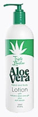 Vienna Triple Lanolin Aloe Vera Hand & Body Lotion 16 oz
