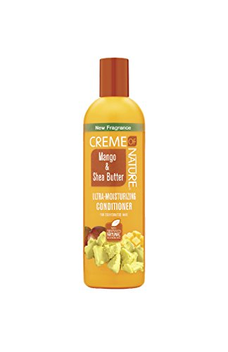 - Creme of Nature Mango & Shea Butter Ultra Moisturizing Conditioner, 12 Ounce