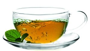 Sun's Tea (TM) 8oz Ultra Clear Glass Tea/Coffee Cup & Clear Glass Saucer, Set of 2 -- Exclusively sold by Sun's Tea